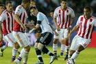Argentina 0-1 Paraguay: Albicelestes nhận trái đắng (H1)