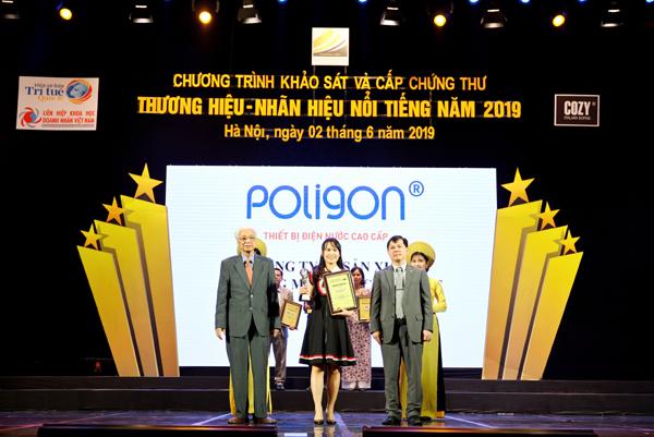 Poligon vào Top 10 thương hiệu, nhãn hiệu nổi tiếng 2019