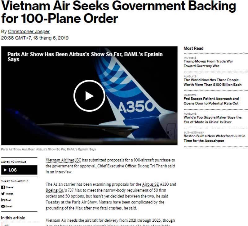 Ông lớn hàng không số 1 Việt Nam tính làm thương vụ lớn với Mỹ