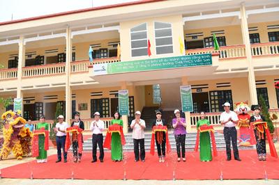 Vietcombank khánh thành công trình trường học tài trợ 3 tỷ đồng ở Yên Bái