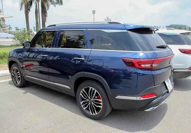 SUV Trung Quốc,BAIC Q7,SUV sang trọng