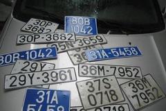 Gắn biển số xe giả bị phạt ra sao?