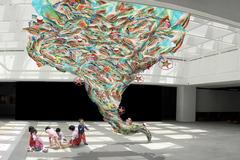 'Hành tinh nhựa' đầy màu sắc ở Trung tâm Nghệ thuật đương đại VCCA