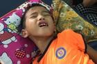 Mẹ nghèo khóc nghẹn xin cứu con trai bị viêm não Nhật Bản