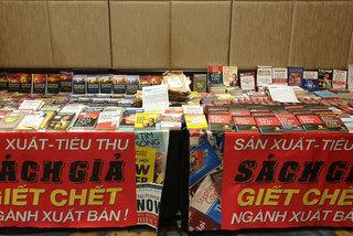 Sách giả sẽ giết chết ngành xuất bản Việt Nam