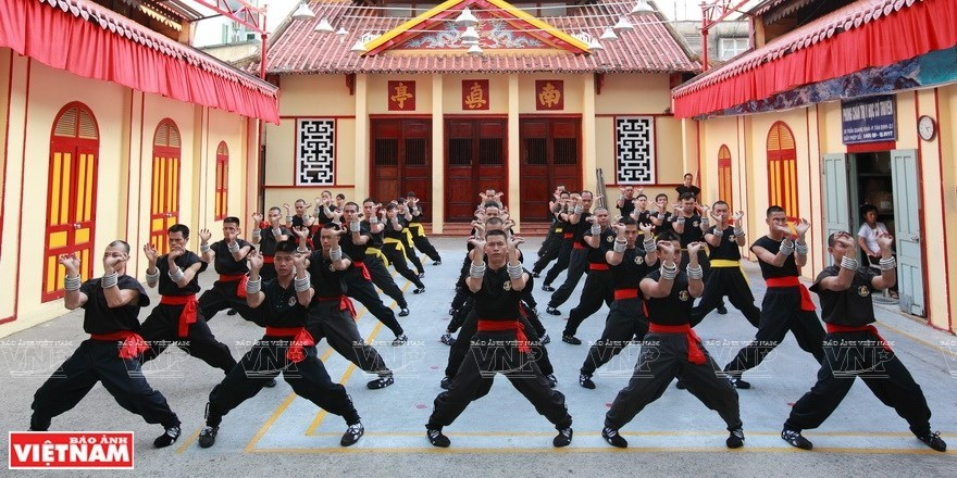 Traditional Vietnamese martial arts attract foreign learners