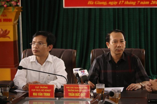 Ha Giang disciplines officials in exam cheating scandal