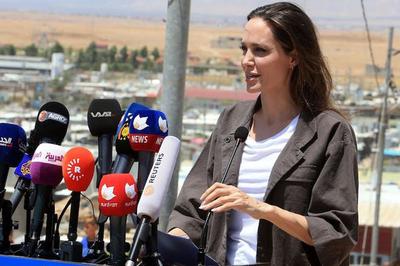 Angelina Jolie trở thành biên tập viên tạp chí Time nổi tiếng của Mỹ