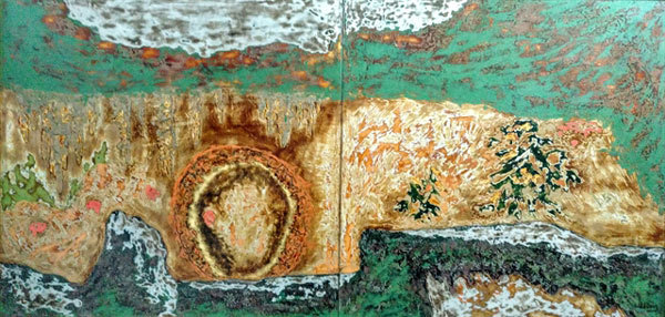 Lacquer exhibition inspired by places of worship opens