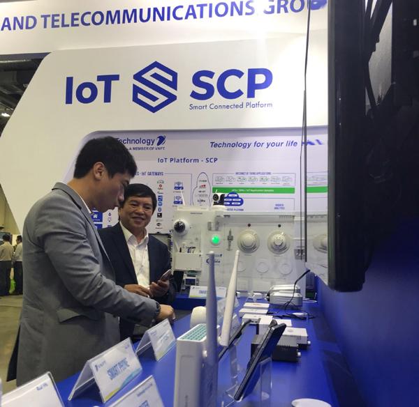 VNPT trình diễn nhiều giải pháp công nghệ ở Connect Tech Asia 2019