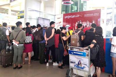 Cục Hàng không chỉ ra lý do chậm, hủy chuyến của Vietjet