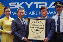 Vietnam Airlines nhận chứng chỉ 4 sao năm thứ tư liên tiếp