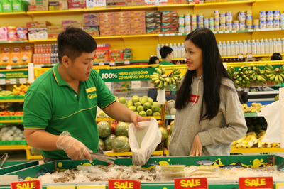 Bách Hóa Xanh - bán rau, quả, thịt cá bằng công nghệ 4.0