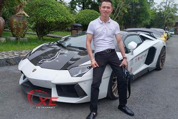 """Đẳng cấp chơi siêu xe Lamborghini đáng nể của đại gia Tùng """"vàng"""""""
