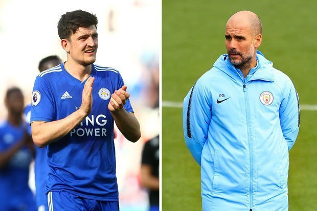 Man City,Harry Maguire,Pep Guardiola,MU