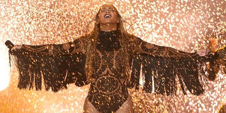 âm nhạc,Nữ hoàng Beyoncé,Beyoncé,trang phục