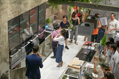 Malloca mang xu hướng thiết bị nhà bếp mới nhất đến Vietbuild HCM