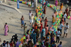 Ấn Độ điêu đứng vì hết nước sạch, hơn 500 người biểu tình bị bắt