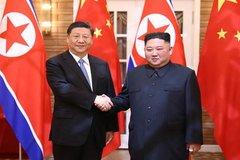 Hai ông Tập-Kim bắt tay đối mặt 'những thay đổi quốc tế nghiêm trọng'