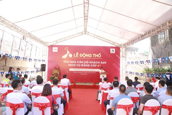 TNR Holdings Việt Nam và DELTA động thổ dự án 90 Đường Láng - Hà Nội
