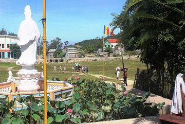 The 160-year-old pagoda on Cham Island