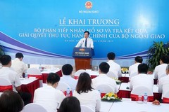 VN Foreign Ministry officially launches one-stop shop services