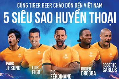 5 siêu sao bóng đá thế giới đến Việt Nam