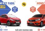 Mua xe hạng A 'full option', chọn VinFast Fadil hay Honda Brio RS?