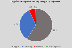 Vietnamese have only two choices for high-end smartphones