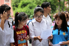 Đáp án tham khảo mã đề 105 môn Toán thi THPT quốc gia 2019