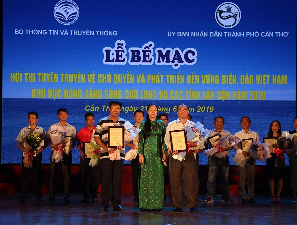 Bế mạc và trao giải hội thi tuyên truyền chủ quyền, phát triển bền vững biển đảo
