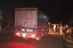 Xe máy đối đầu trực diện xe tải ở Quảng Trị, 2 anh em thiệt mạng