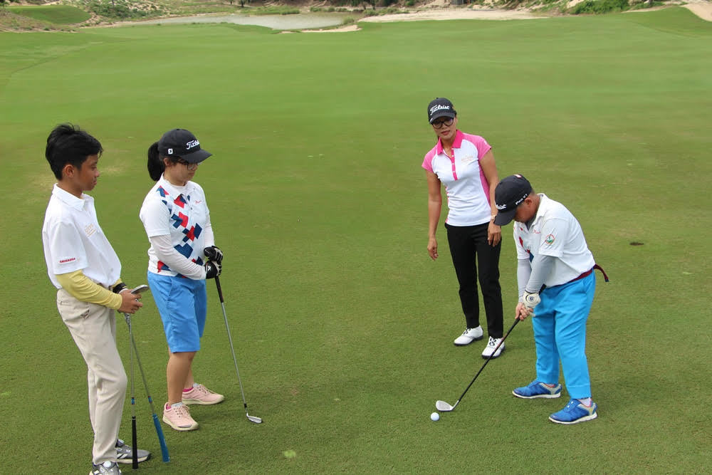 Tang Thi Nhung helps blast a path for Vietnamese women's golf