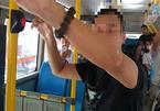 Tạm giữ người đàn ông thủ dâm trên xe buýt Hà Nội, xác minh hành vi dâm ô