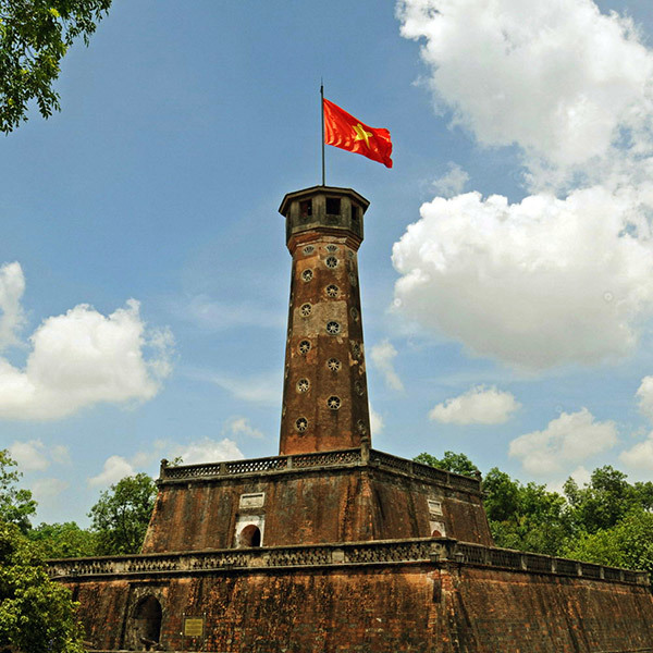Hanoi Flag Tower – the most intact architecture in Thang Long Imperial Citadel