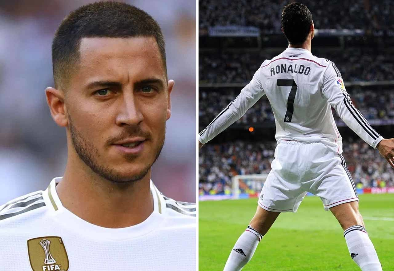Eden Hazard,Ronaldo,Real Madrid