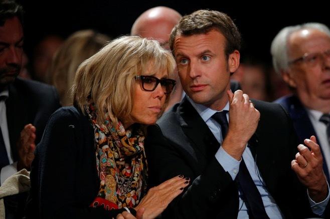 đệ nhất phu nhân,Pháp,Emmanuel Macron,chồng trẻ,vợ già
