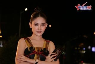 Lê Âu Ngân Anh bất ngờ xuất hiện ở Hoa hậu Thế giới Việt Nam