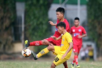 Giải U15 QG: SLNA, Thanh Hoá đi tiếp, HAGL sớm bị loại