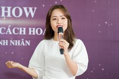 MC Minh Hằng tư vấn ngôn ngữ cho những phụ nữ thành đạt