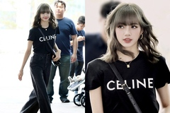 Lisa (BLACKPINK) diện trang phục hơn 1,4 tỷ ra sân bay