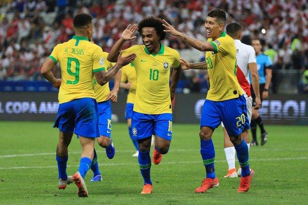 Xác định 4 cặp đấu tứ kết Copa America 2019