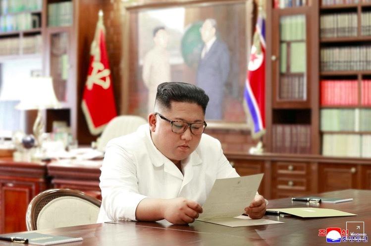 Lãnh đạo Triều Tiên,Kim Jong Un,thư riêng,Donald Trump,Tổng thống Mỹ