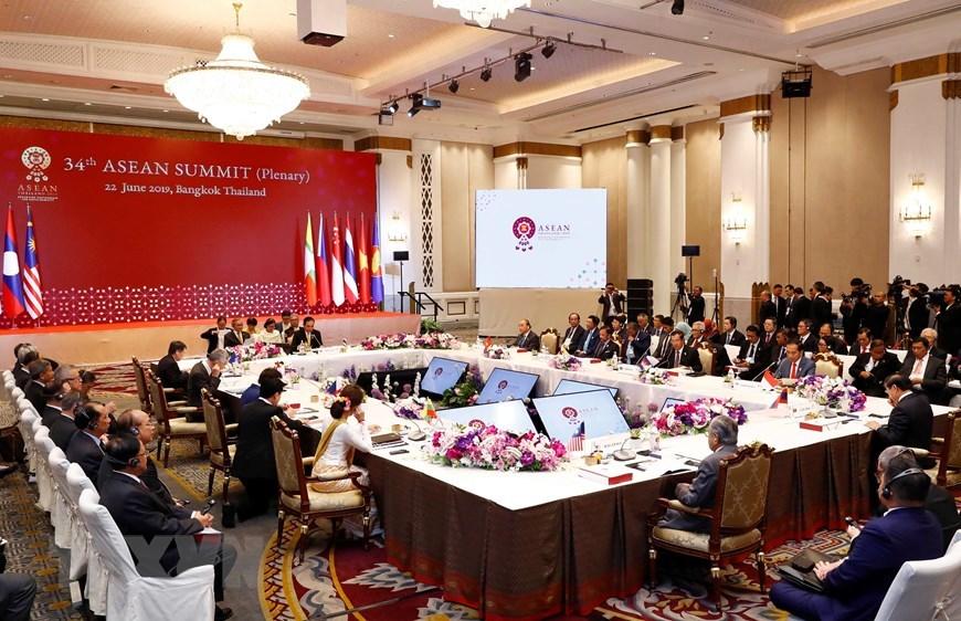 Thủ tướng Nguyễn Xuân Phúc,Nguyễn Xuân Phúc,ASEAN