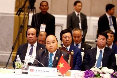 Thủ tướng Nguyễn Xuân Phúc trả lời phỏng vấn báo The Nation