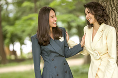 Hoa hậu Hà Kiều Anh cùng Dương Mỹ Linh mặc đồ kín nhưng vẫn quyến rũ