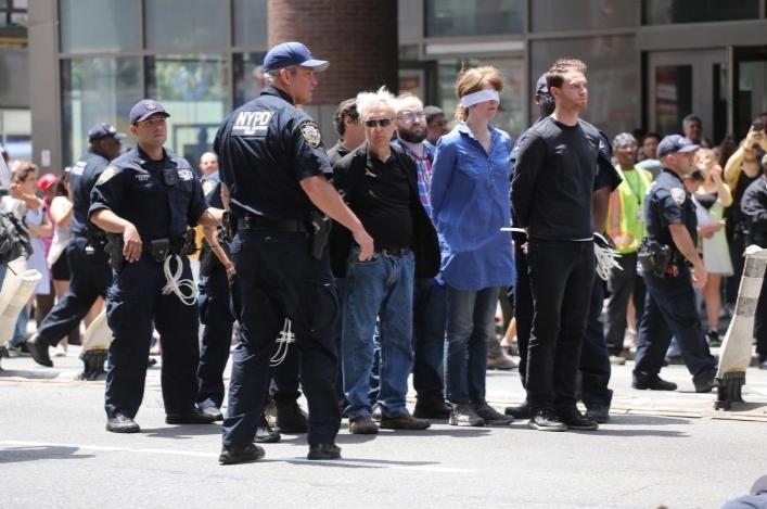 Mỹ,New York,New York Times,biểu tình,biến đổi khí hậu,môi trường,cảnh sát