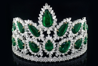 Cận cảnh vương miện 276 tỷ đồng của Hoa hậu Thế giới Mỹ 2019