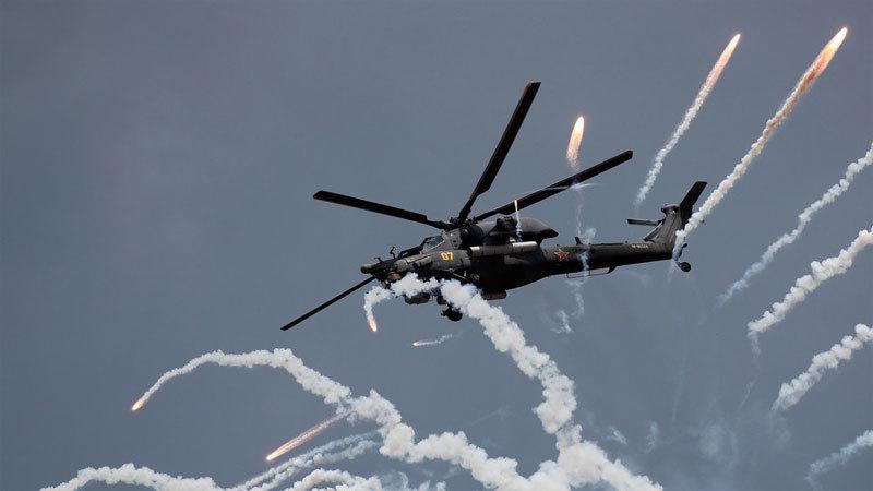Nga,trực thăng chiến đấu,tên lửa tối tân