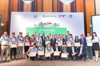 Sắp trao giải khởi nghiệp sáng tạo ứng phó với biến đổi khí hậu Việt Nam